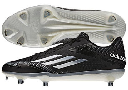 Adidas Adizero Afterburner 2.0 Metal Cleats