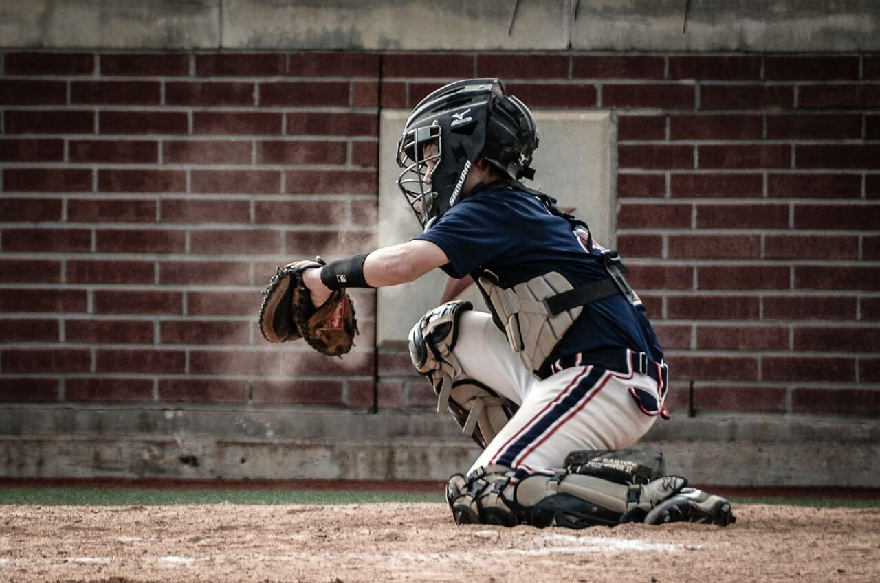 Youth catchers helmets