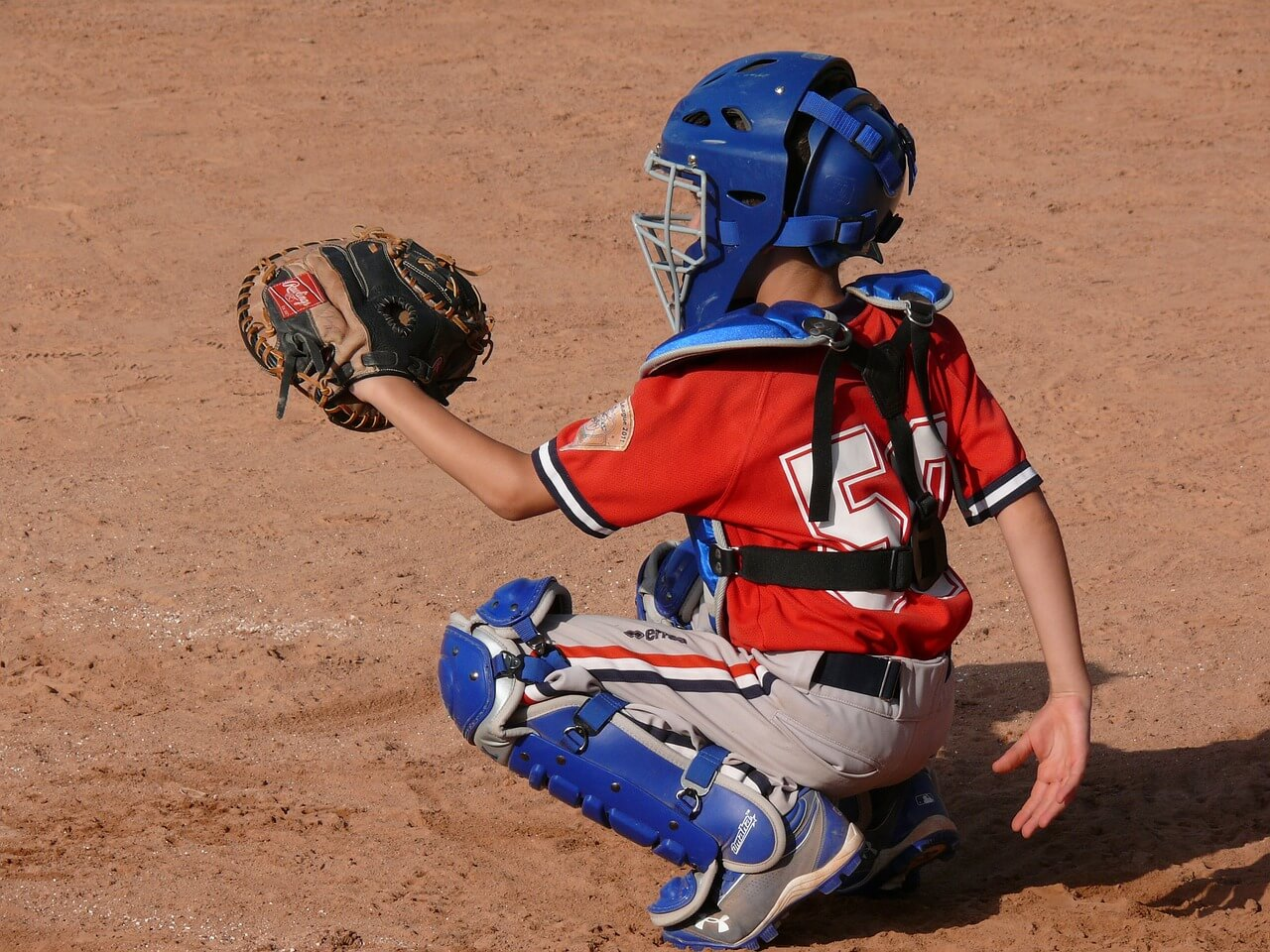 Youth catchers mitt