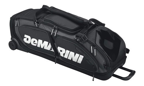 DeMarini Black Ops Baseball/Softball Equipment Wheel Bag